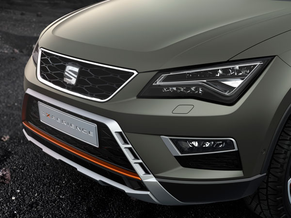 SEAT Ateca X-perience front detail