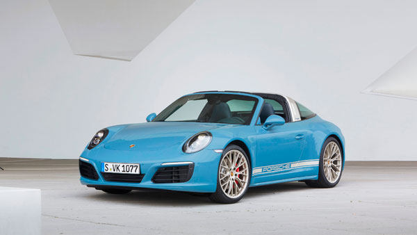 Porsche 911 Targa 4s exclusive 3kw still