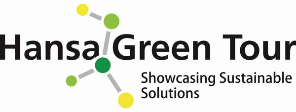 Hansa Green Tour logo showcasing sustainable solutions