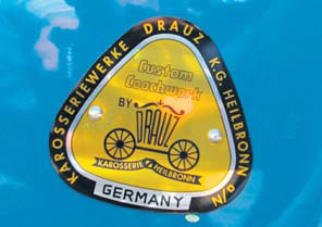 Porsche 356A deel5 badge