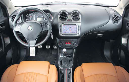 Alfa MiTo TwinAir turbo interieur