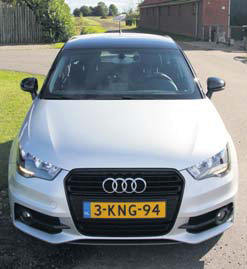 Audi A1 Admired front