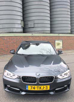 Test BMW 3 Serie front
