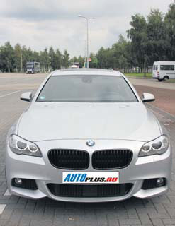 BMW 5-Serie front