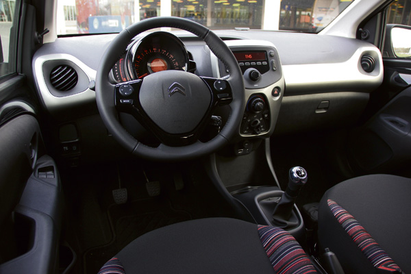 Citroen C1 Privelease interieur