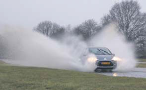 Citroen C3 test waterbak