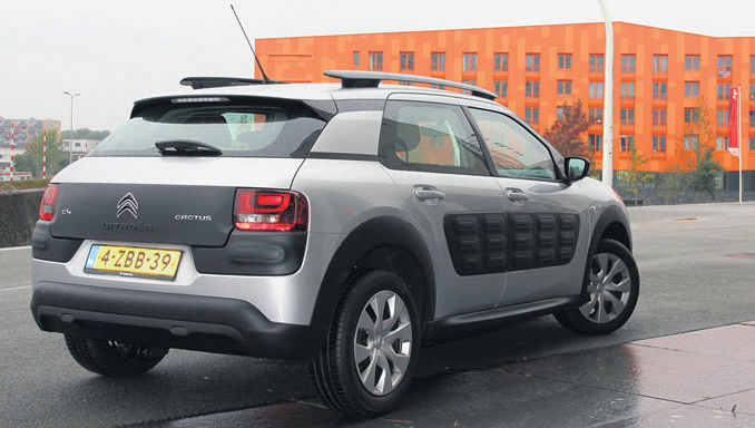 Citroen Cactus Privelease back