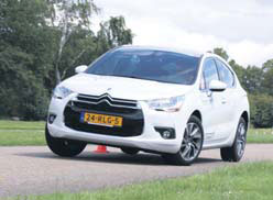 Citroen DS4 test slalom