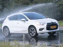 Citroen DS4 test slipvlak