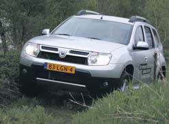 Dacia Duster test offroad
