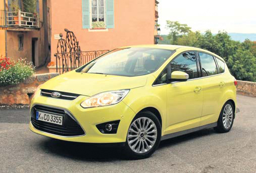 Ford C-MAX test dynamic