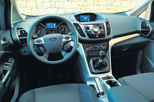 Ford C-MAX test interieur