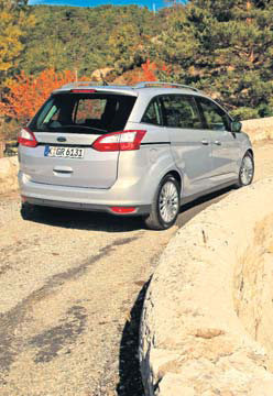 Ford Grand C-MAX test exterieur