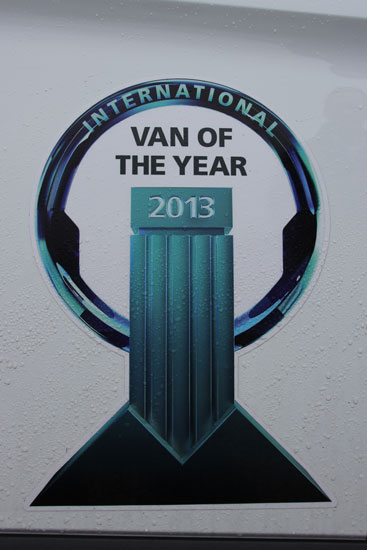 Ford Transit Custom Van of the Year