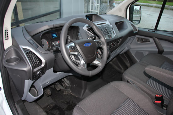 Ford Transit Custom interieur