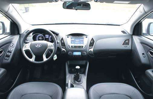 Hyundai ix35 cvvt styleversion 2wd autoplus for Interieur hyundai tucson