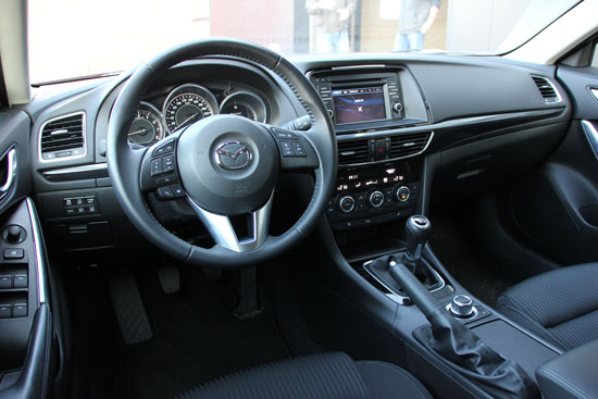 Mazda6 Sportbreak interieur