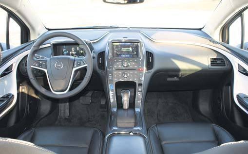 Opel Ampera test interieur
