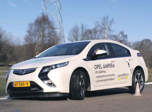 Opel Ampera test side