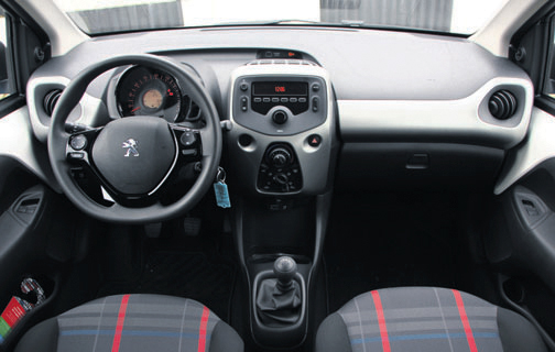 Peugeot 108 catawiki 1 0 e vti 69 pk 5d active autoplus for Interieur peugeot 108