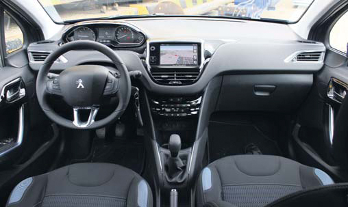 Peugeot 208 1 6 vti allure 5d autoplus for Interieur peugeot 208