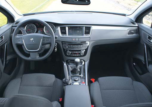 Peugeot 508 SW test interieur