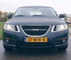 Saab 9-5 Sedan test exterieur