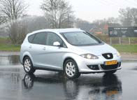 Seat Altea XL Stylance test slipvlak