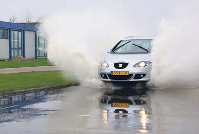 Seat Altea XL Stylance test waterbak