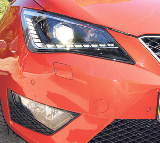Seat Ibiza EcoTSI FR Connect koplamp