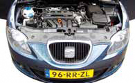 Seat Leon 2.0 Stylance test motorcompartiment