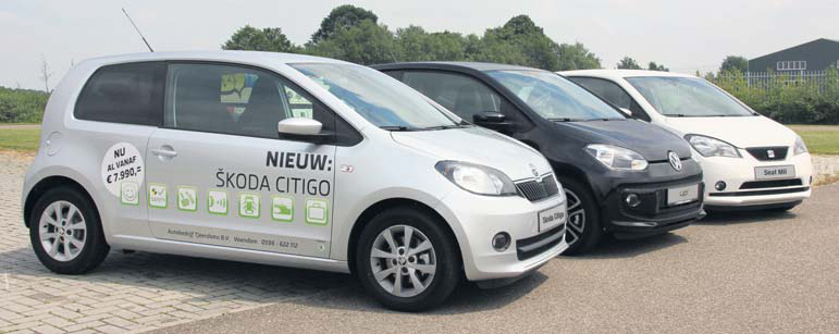 skoda citigo vw up en seat mii trio test autoplus. Black Bedroom Furniture Sets. Home Design Ideas