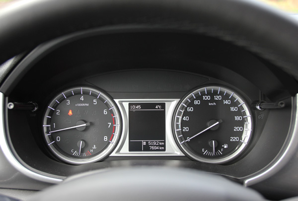 Suzuki Vitara clocks