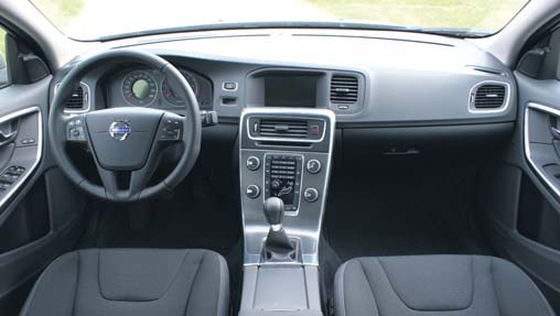 Volvo S60 test interieur