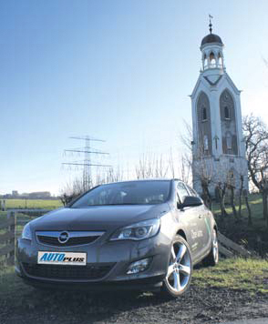 Opel Astra 1.6 Turbo test exterieur