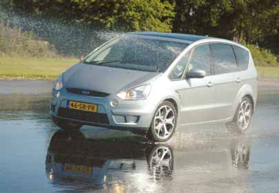 Ford S-MAX 2.5t test action
