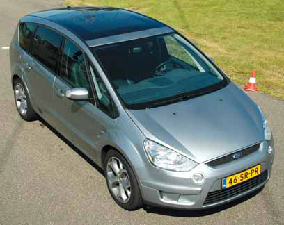 Ford S-MAX 2.5t test exterieur