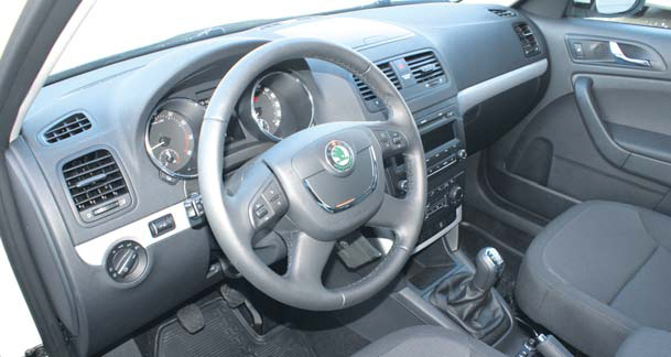 Skoda Yeti test interieur