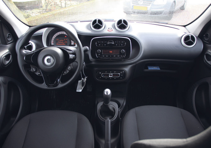 Smart forfour autoplus for Smart interieur