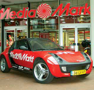 smart Roadster test Mediamarkt