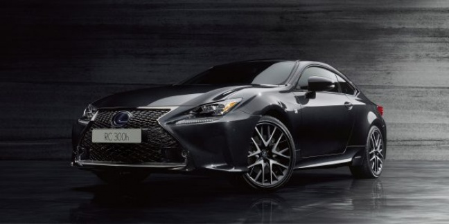 Lexus introduceert de RC F SPORT Black Edition