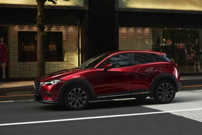 MAZDA Onthult vernieuwde  CX-3 op New York International Motorshow