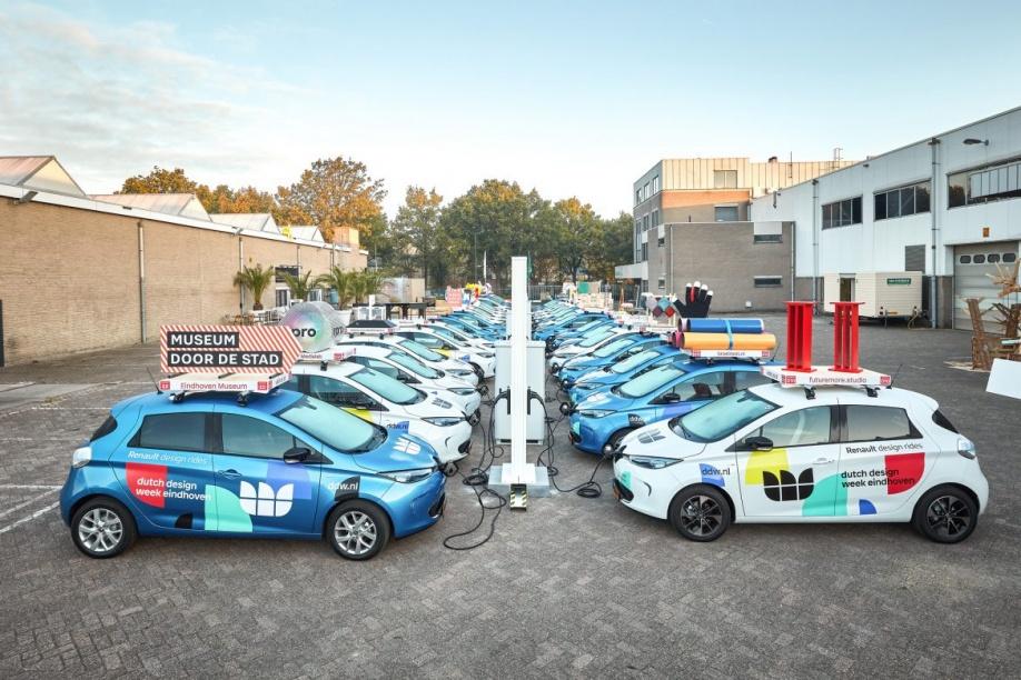 Renault Vervoert Ruim 60 000 Bezoekers Dutch Design Week Met