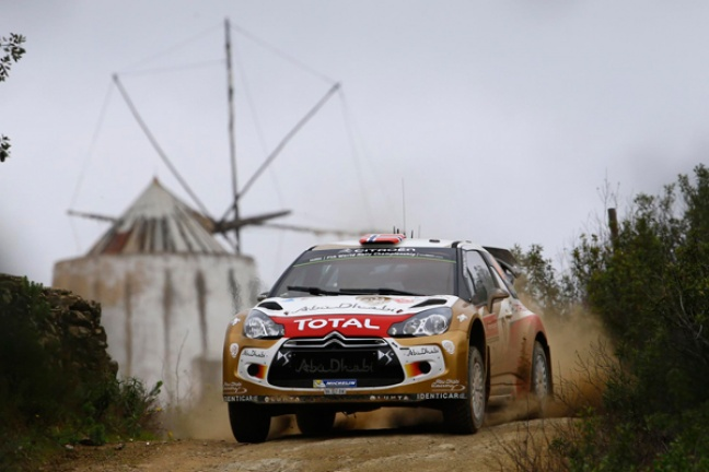 Podium voor Mads Østerberg en Citroën in WRC-Rally Portugal