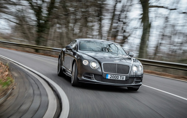 V8 power voor Bentley Flying Spur en nog meer vermogen voor Bentley Continental GT Speed