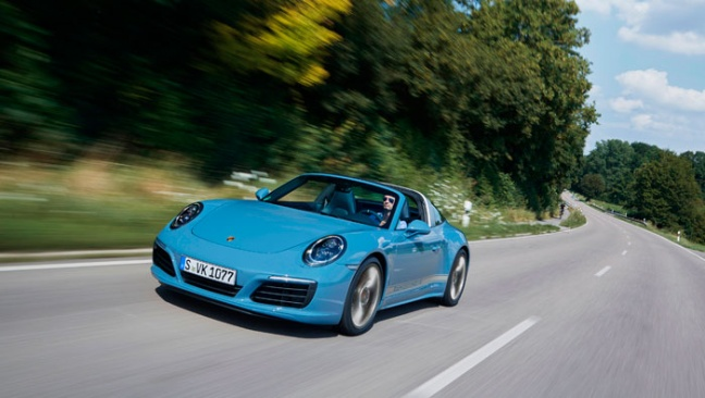 Nieuwe 911 Targa 4S Exclusive Design Edition