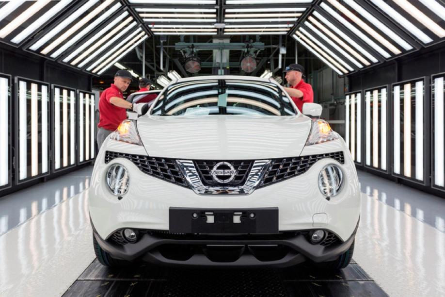 Nissan fabriek wordt klaargestoomd voor nieuwe generatie for Nissan juke licht