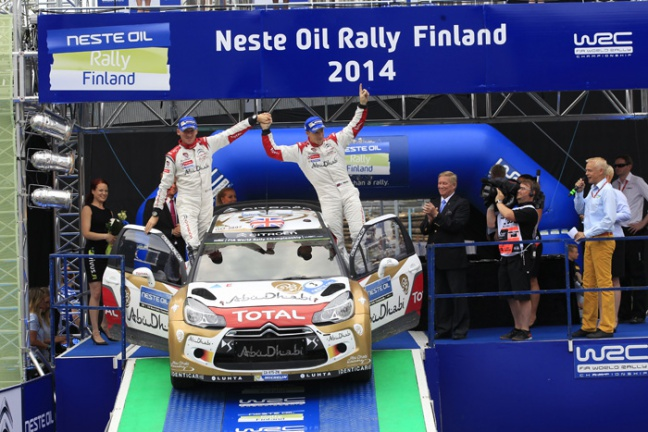 Podium voor Kris Meeke en Citroën in 1.000 meren rally