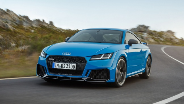 Audi TT RS Coupé en Roadster: topprestaties met vijfcilindersound