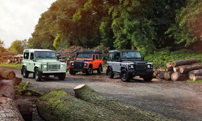 Land Rover Celebration Series: 3 Limited Editions, 1 missie